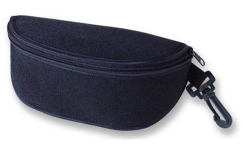 Large Soft Sport Sunglass Case with Clip