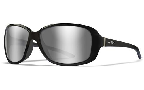 Grey Silver Flash Lens/Gloss Black Frame