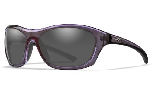 Grey Lens/Dark Crystal Purple Frame