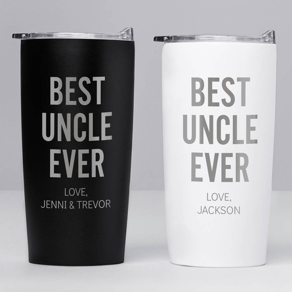 Personalized Best Uncle Ever Stainless Steel Tumbler