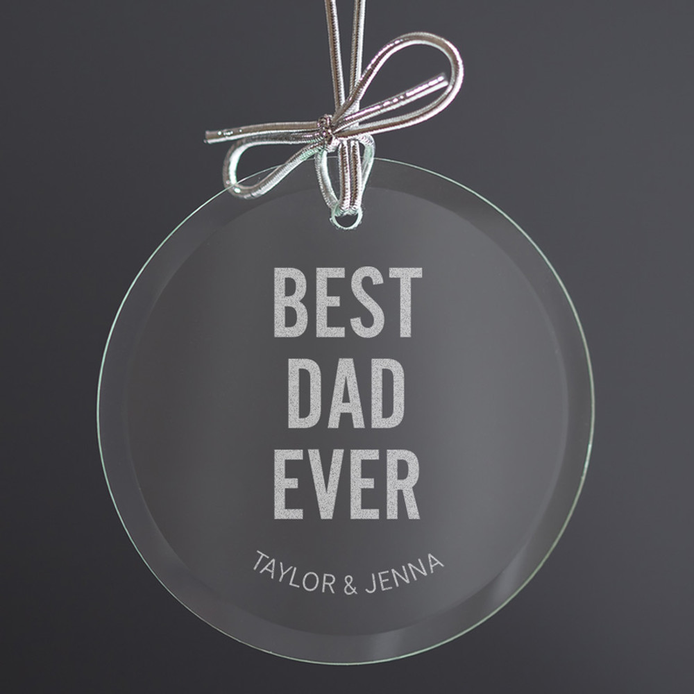 ornament for dad  from kids