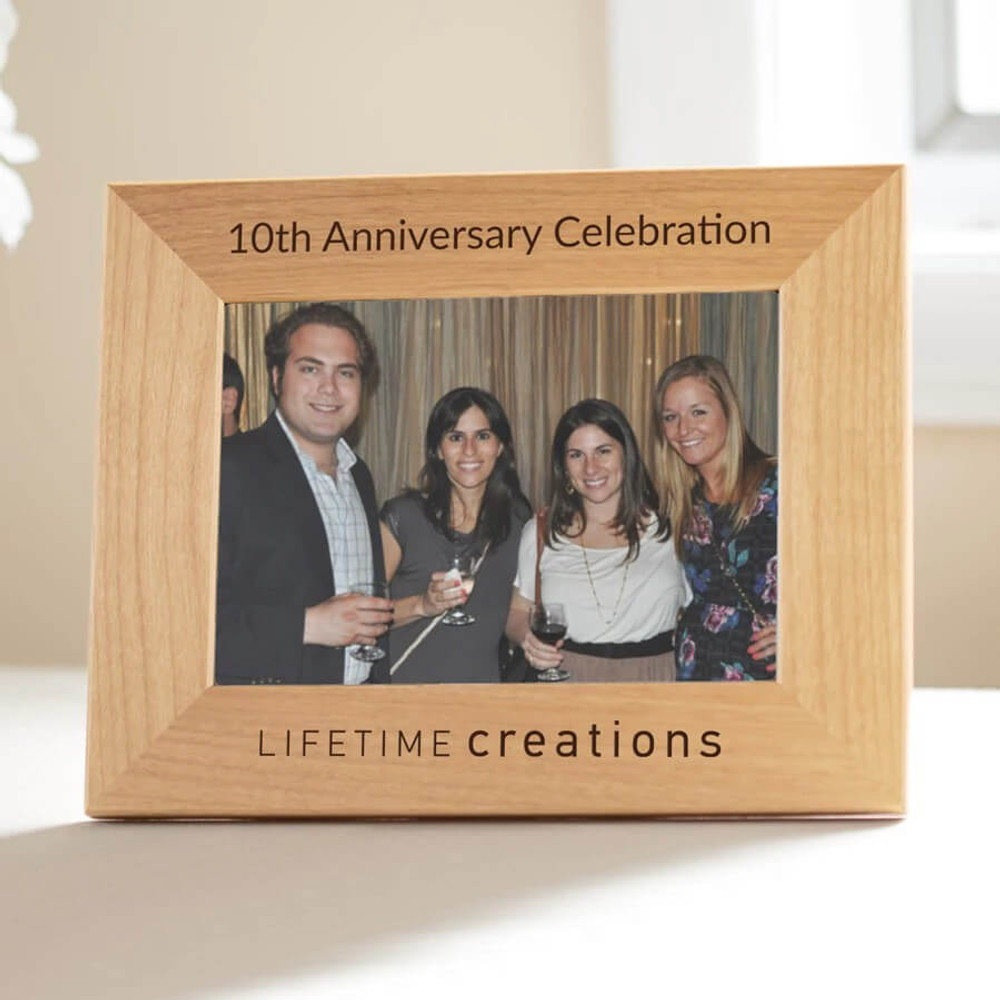 Bulk Custom Engraved Picture Frames Wlogo