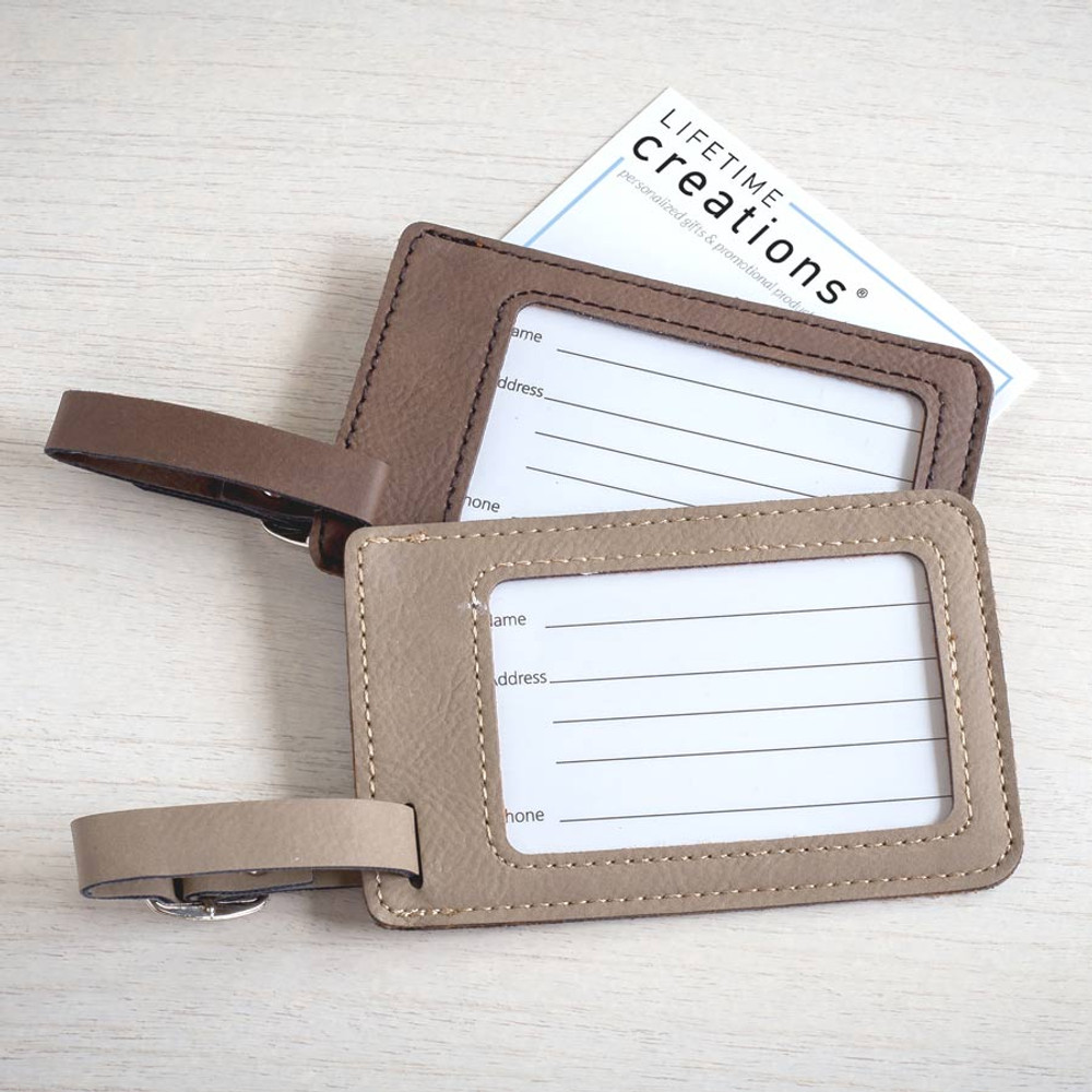 Create Your Own Personalized Bag Tag Back