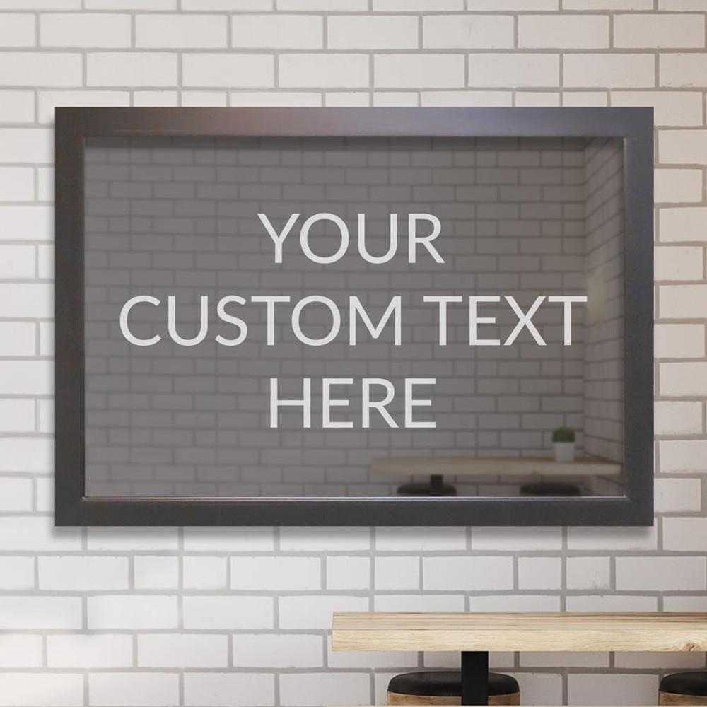 Custom Bar Mirror - Create Your Own