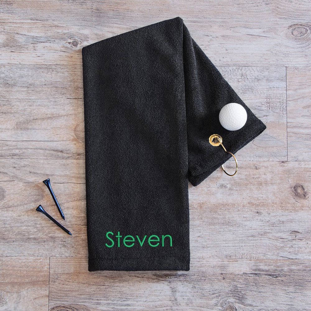 Personalized Golf Towel
