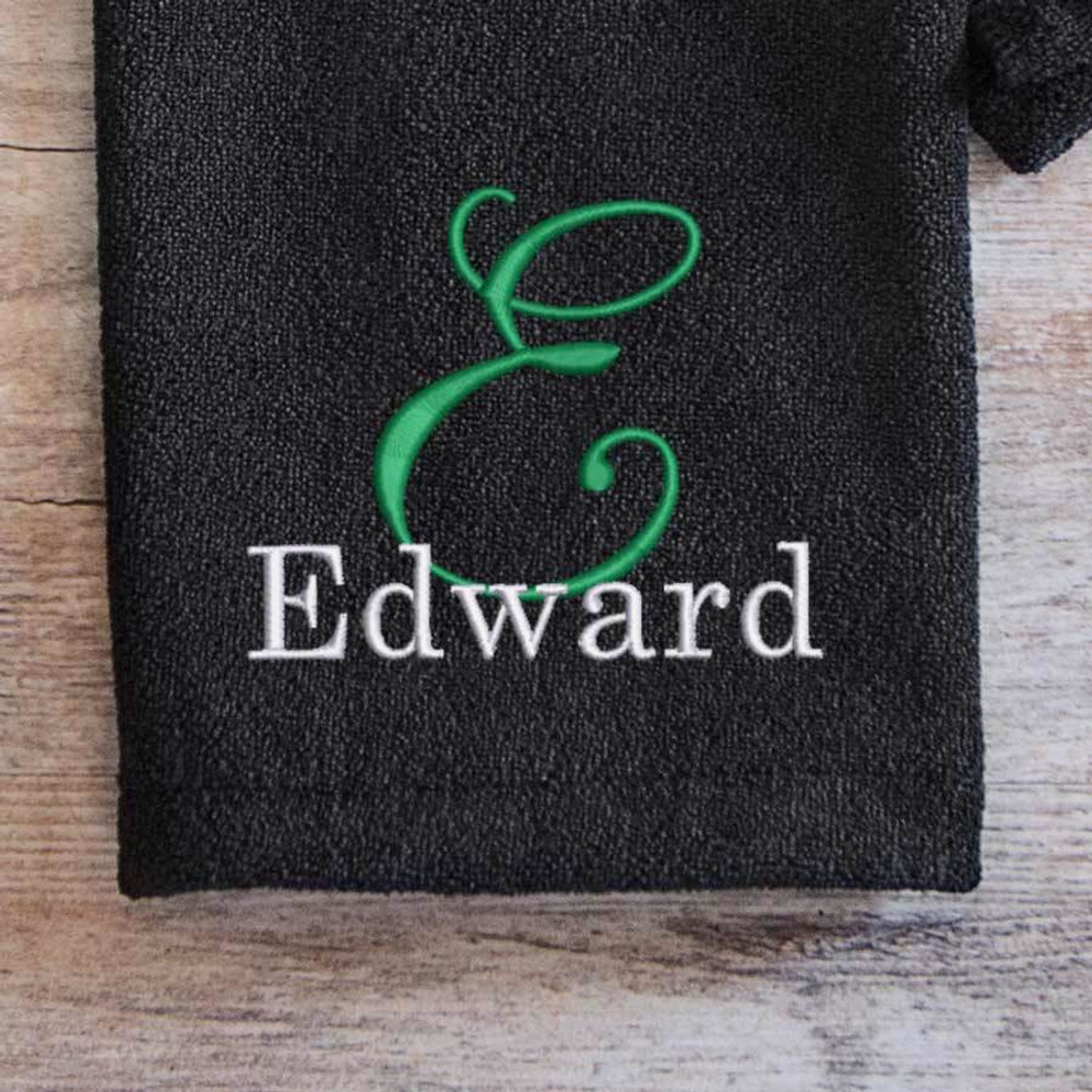 Custom Embroidered Golf Towel