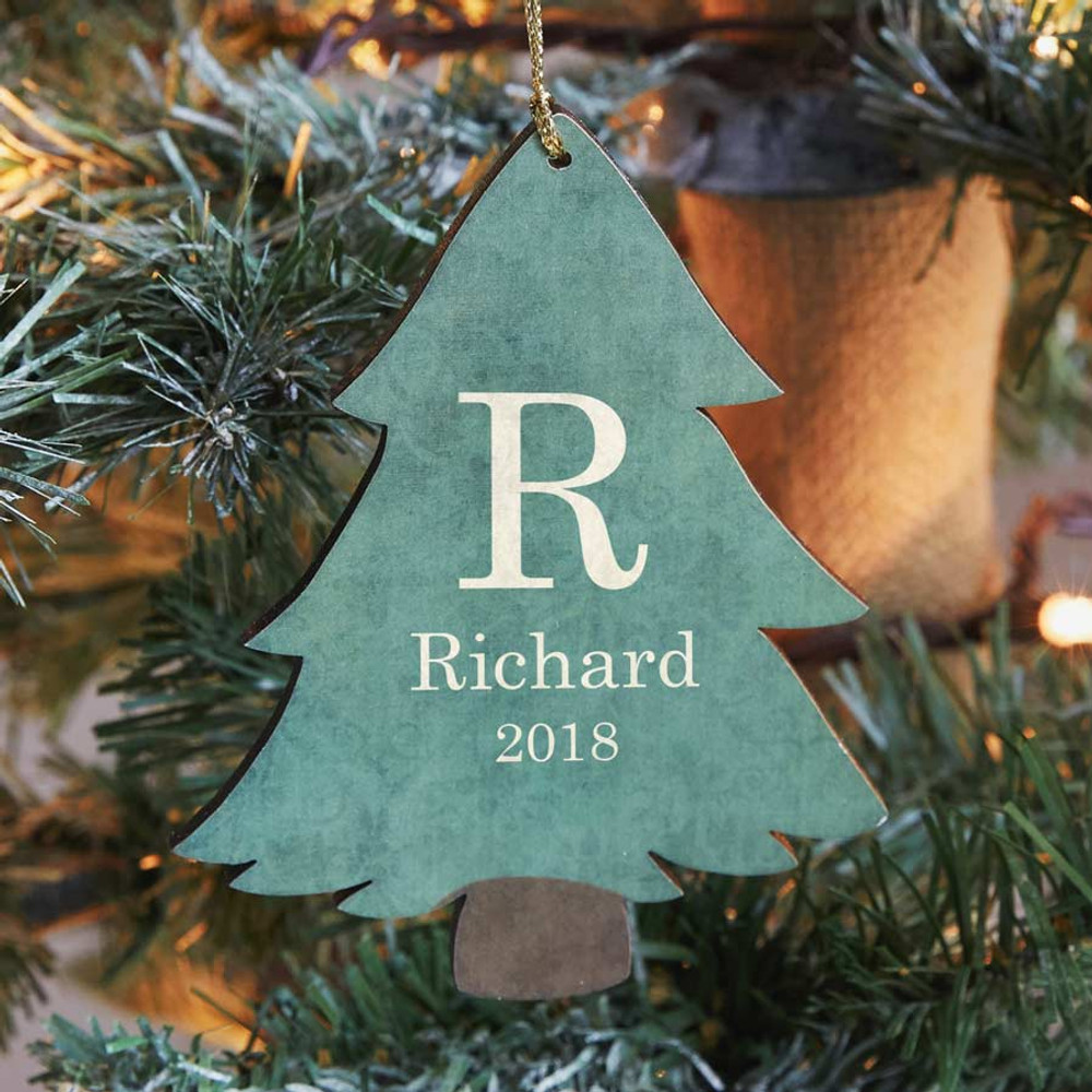 Personalized Christmas Ornament.Personalized Christmas Tree Ornament