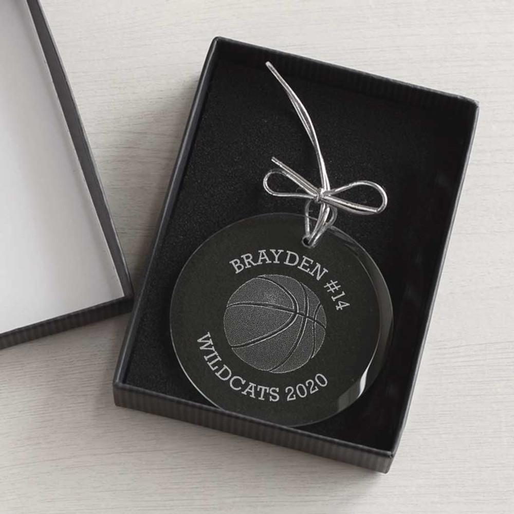 christmas ornament gift box for basketball players