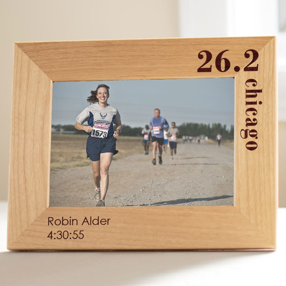 Personalized Running Marathon Picture Frame