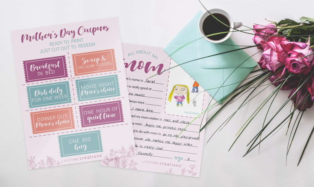 Free, Printable Mother's Day Coupons & Questionnaire