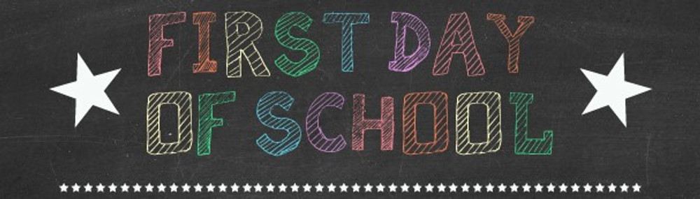 Free, Printable First Day of School Sign