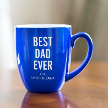 Personalized Father's Day Best Dad Ever Coffee Mug