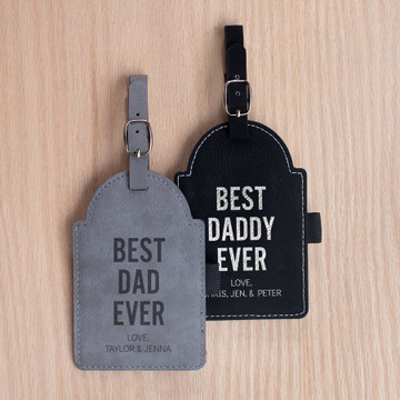 Personalized Father's Day Dad Golf Tag