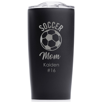 soccer mom mothers day gift black