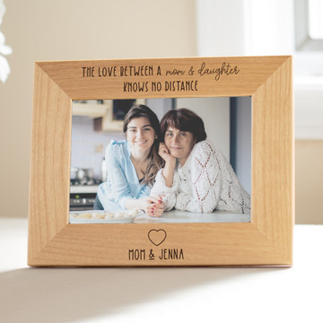 personalized picture frame for long distance family members