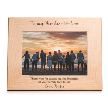 picture frame for mother in law customized