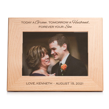 mother of the groom picture frame