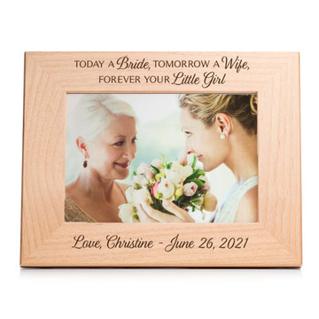 picture frame gift for mother of the bride