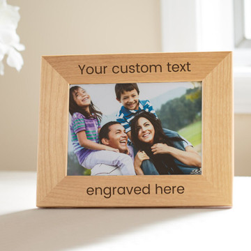 design your own picture frame engraved