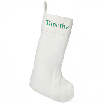 Classic Personalized Christmas Stocking