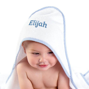 Personalized Baby Hooded Towel