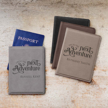 Personalized Adventure Passport Cover