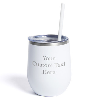 Create Your Own Personalized White Wine Tumbler