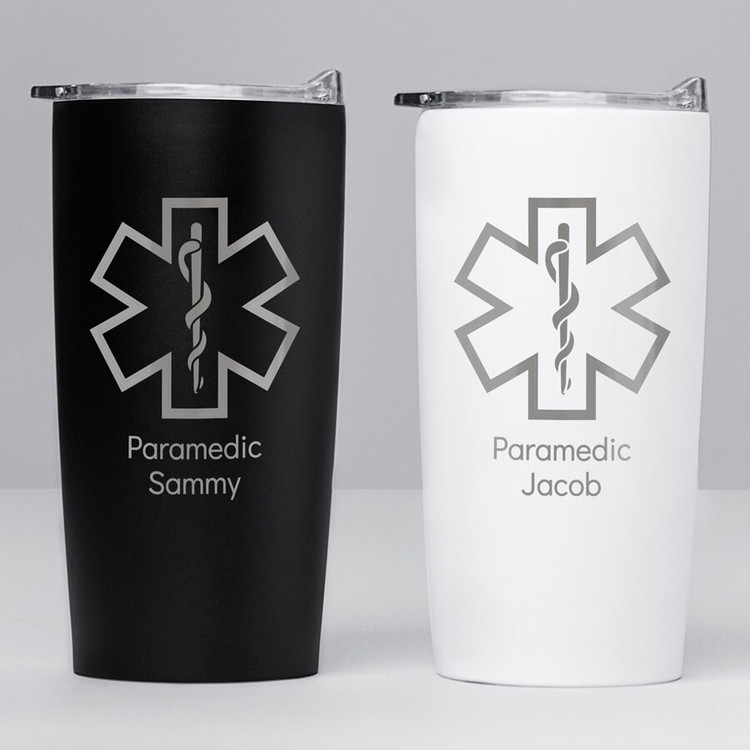 Personalized EMT Paramedic Stainless Steel Tumbler