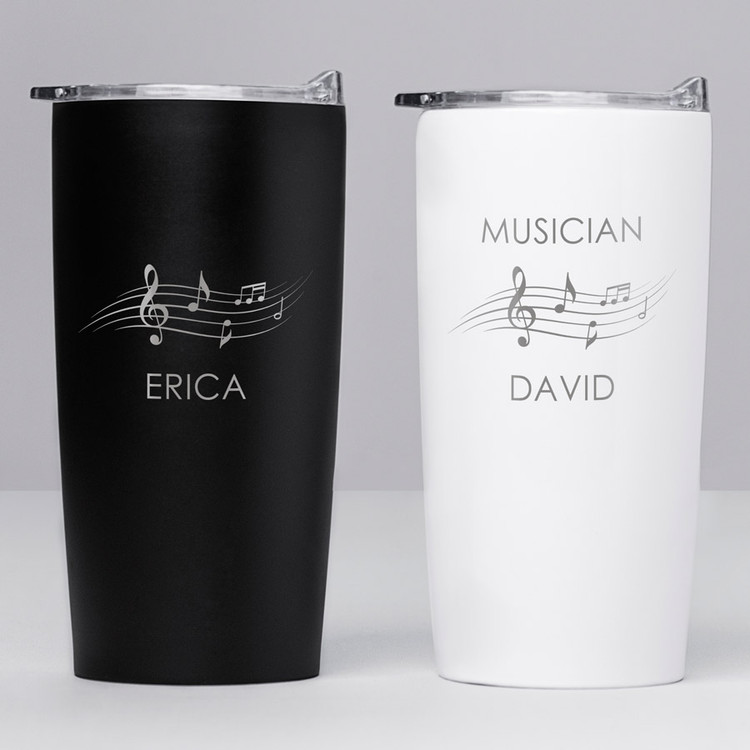 personalized music teacher tumbler gift