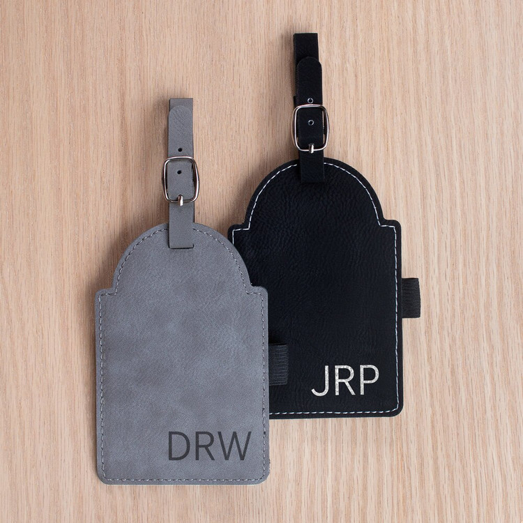 Personalized Initials Custom Golf Bag Tag