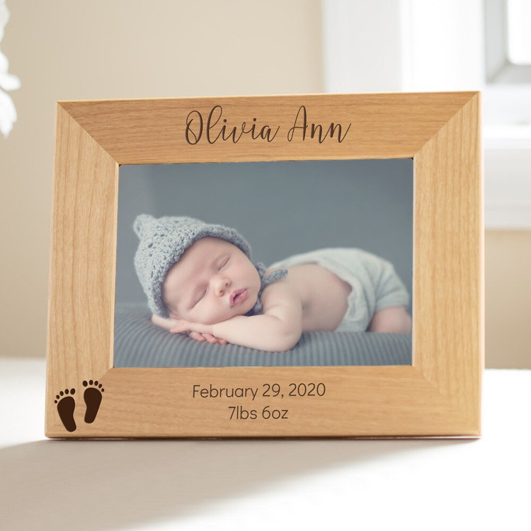 Personalized New Baby Picture Frame