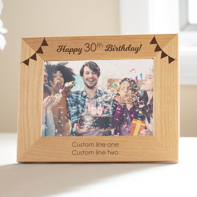 Personalized Birthday Picture Frame