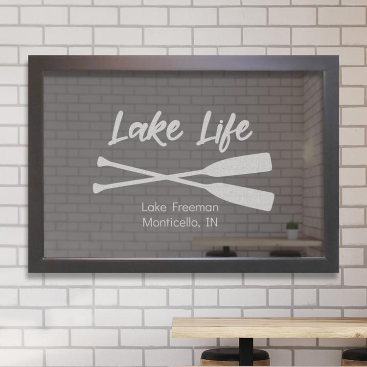 custom mar mirror lake life
