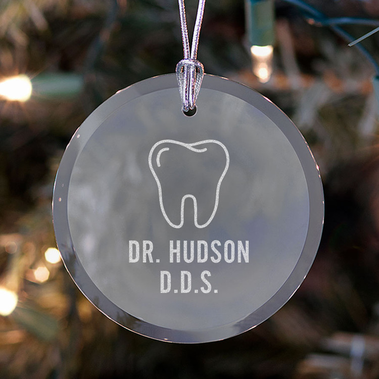 dentist ornament personalized
