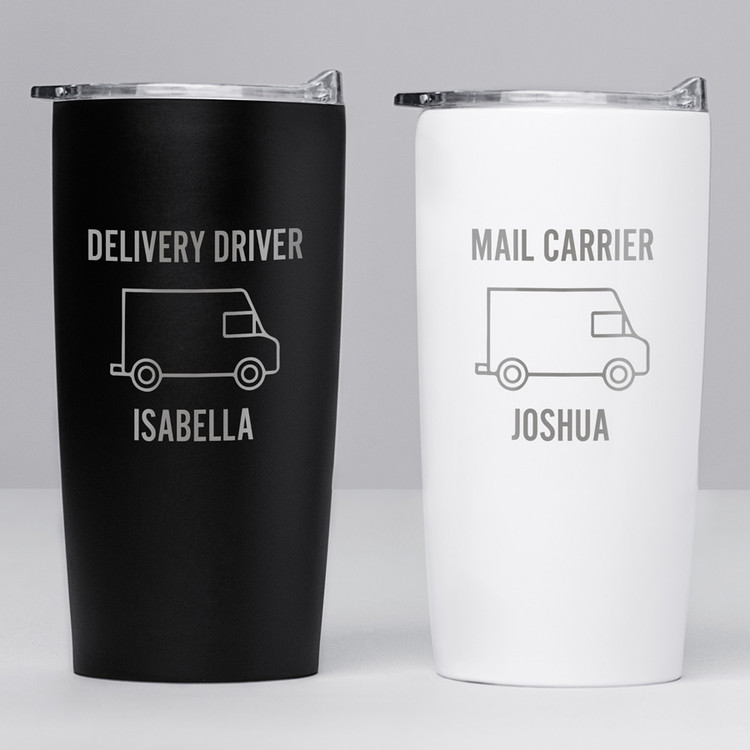 personalized postal worker tumbler gift