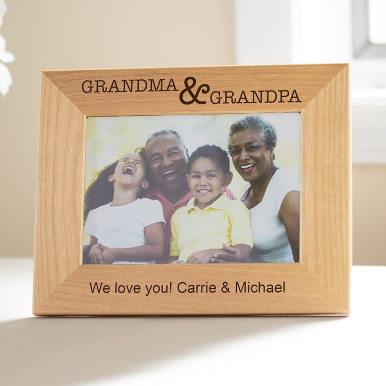 Personalized Grandparents' Picture Frame