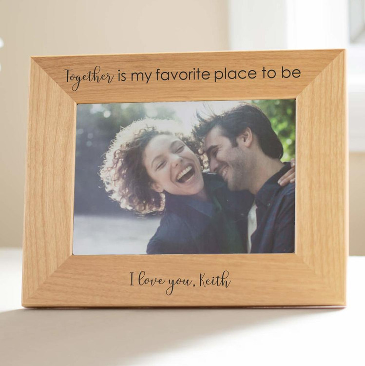 Personalized Couple's Romantic Picture Frame