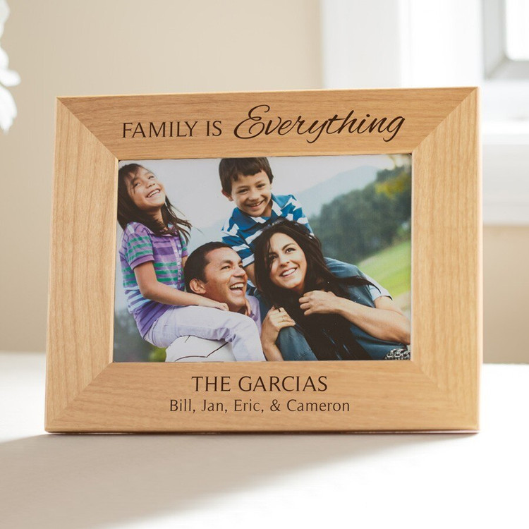 Personalized Family is Everything Picture Frame