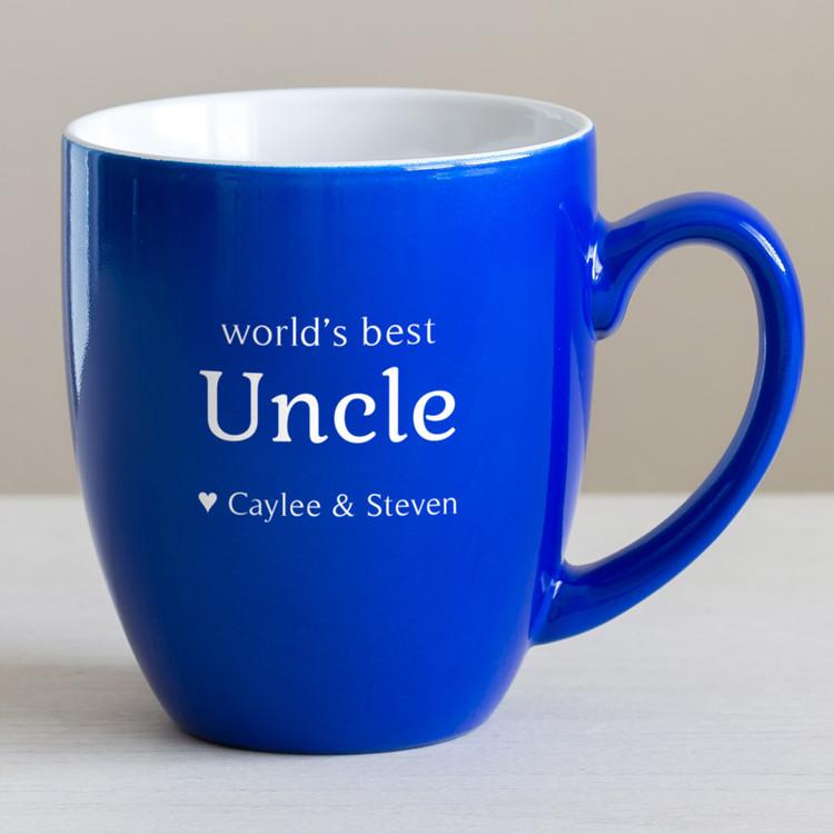 Personalized Uncle Christmas Coffee Mug