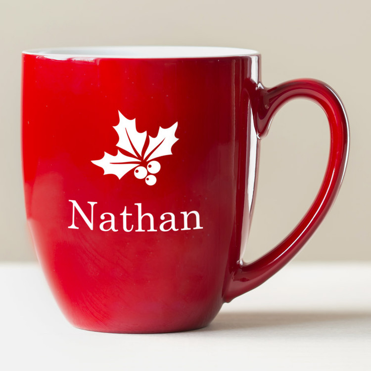 Personalized Holiday Coffee Mug