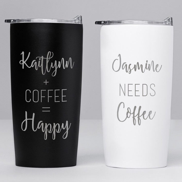Personalized Stainless Coffee Travel Mug