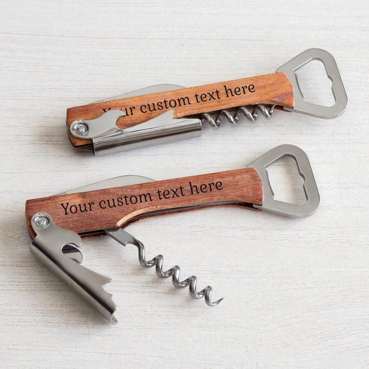 Create Your Own Wine Corkscrew & Bottle Opener