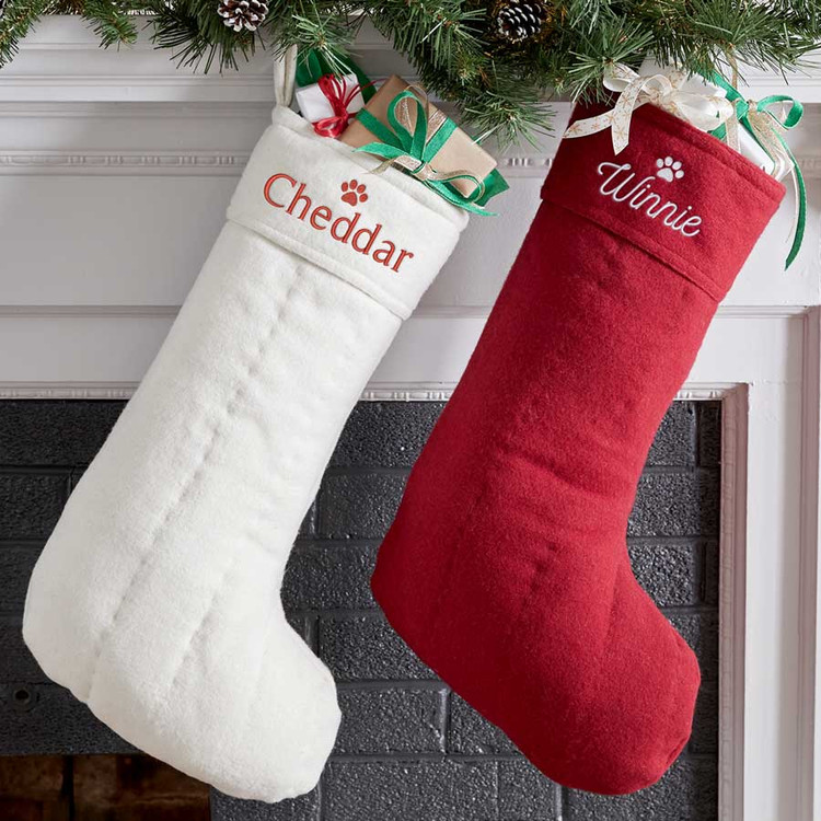 Personalized Pet Christmas Stocking