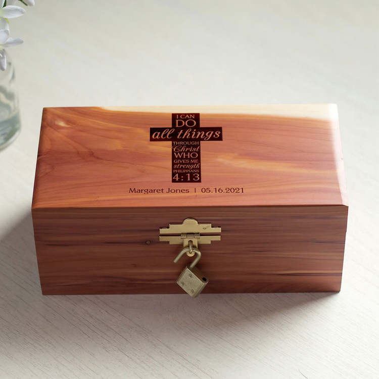 Personalized Child's Prayer Box
