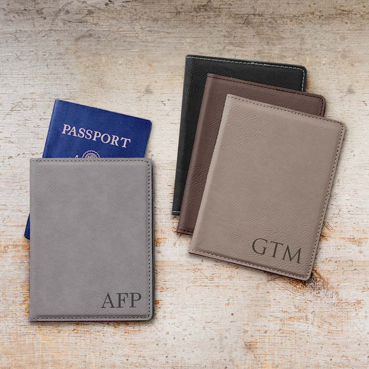 Personalized Passport Cover - Monogrammed