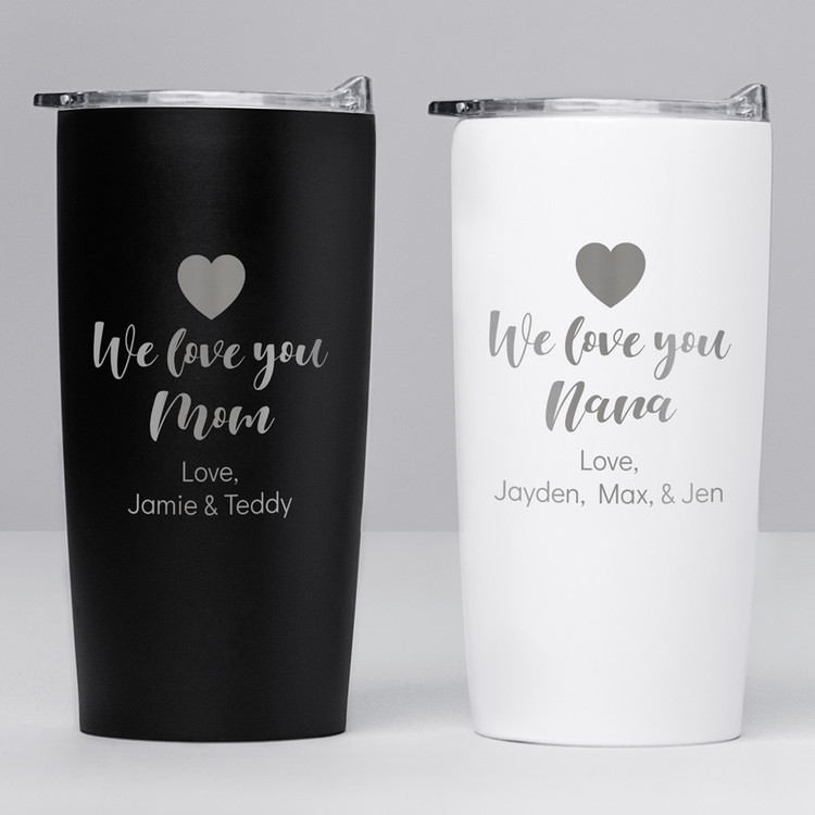 Personalized Mom Coffee Tumbler