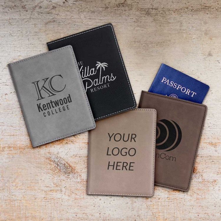Custom Passport Cover with Logo