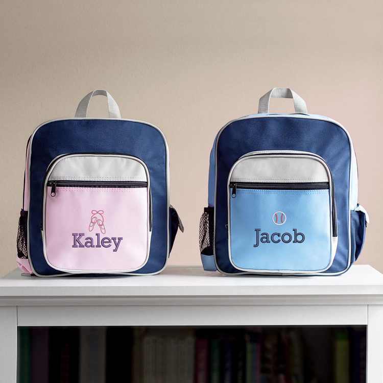 Embroidered Kid's Sports Backpack
