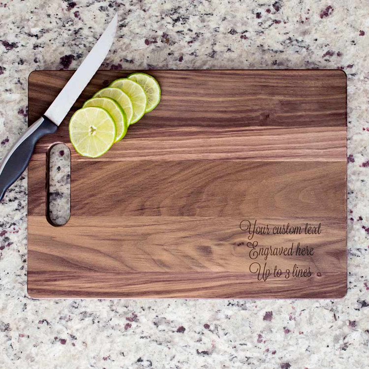 Create Your Own Personalized Cutting Board