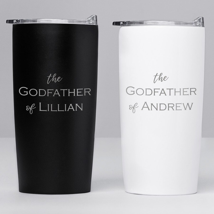 Custom Godfather Coffee Travel Mug